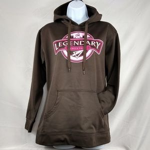 Legendary Whitetails Hoodie Brown & Pink, Size L